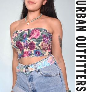Urban Renewal Vintage Floral Tube Top
